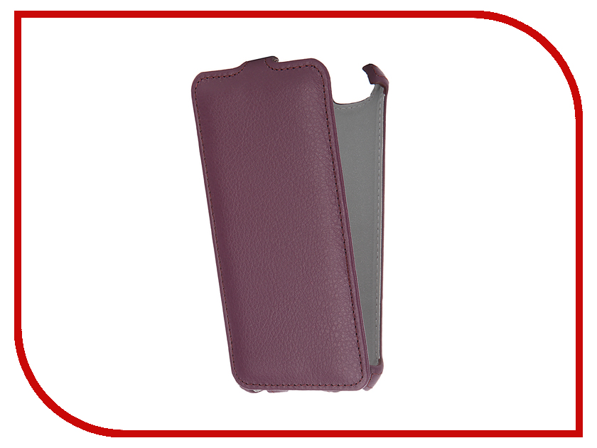 Аксессуар Чехол Lenovo Vibe C A2020 Zibelino Classico Purple ZCL-LEN-A2020-PUR<br>