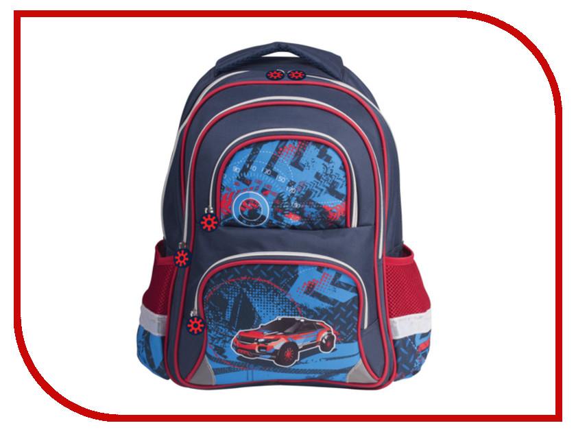 Рюкзак BRAUBERG Внедорожник Blue 225435