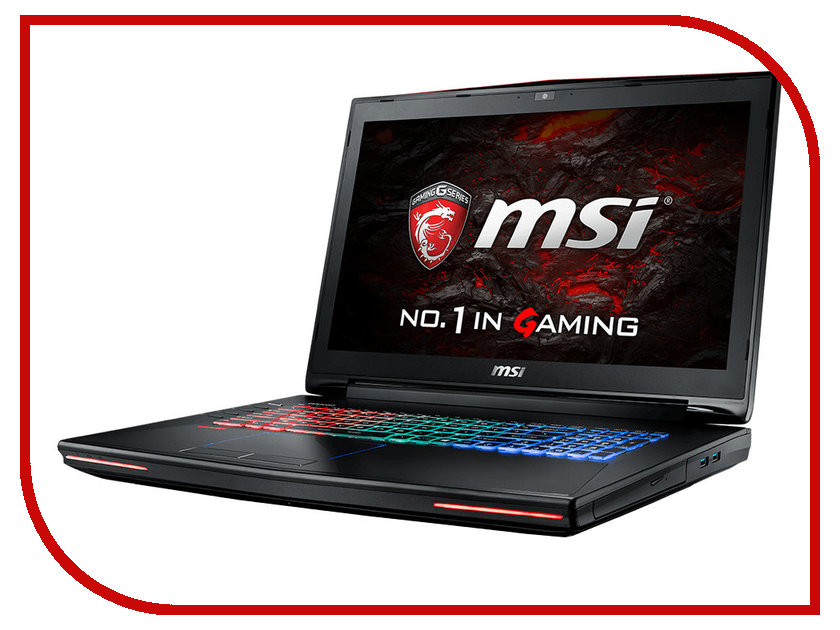 Ноутбук MSI GT72VR Dominator 6RD-091RU 9S7-178511-091 (Intel Core i7-6700HQ 2.6 GHz/16384Mb/1000Gb + 128Gb SSD/DVD-RW/nVidia GeForce GTX 1060 6144Mb/Wi-Fi/Cam/17.3/1920x1080/Windows 10 64-bit)