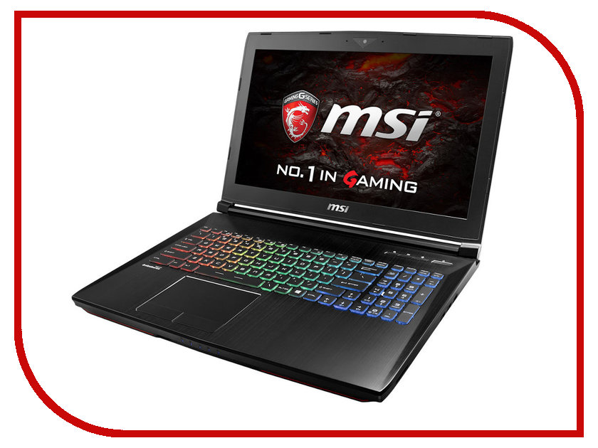 Ноутбук MSI GT62VR Dominator Pro 6RE-048RU 9S7-16L221-048 Intel Core i7-6700HQ 2.6 GHz/16384Mb/1000Gb + 128Gb SSD/nVidia GeForce GTX 1070 8192Mb/Wi-Fi/Bluetooth/Cam/15.6/1920x1080/Windows 10 64-bit
