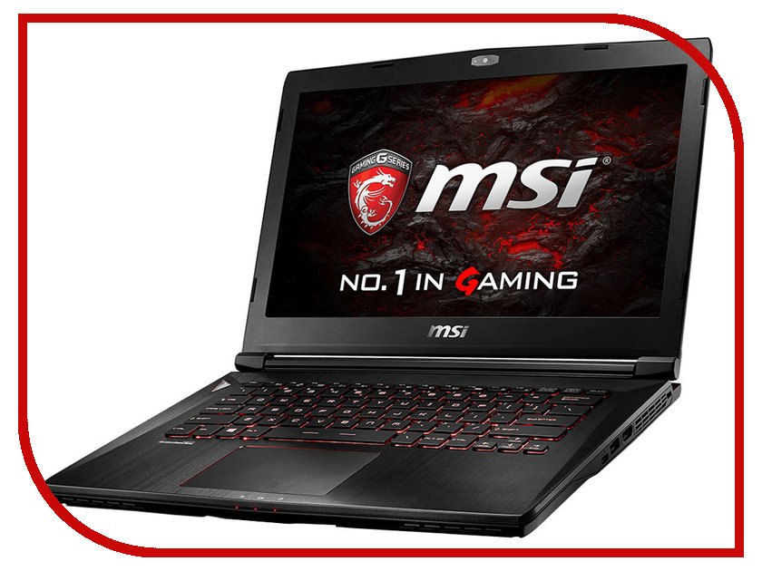Ноутбук MSI GS43VR 6RE Phantom Pro 9S7-14A312-007 Intel Core i7-6700HQ 2.6 GHz/16384Mb/1000Gb + 256Gb SSD/nVidia GeForce GTX 1060 6144Mb/Wi-Fi/Bluetooth/Cam/14.0/1920x1080/Windows 10 64-bit