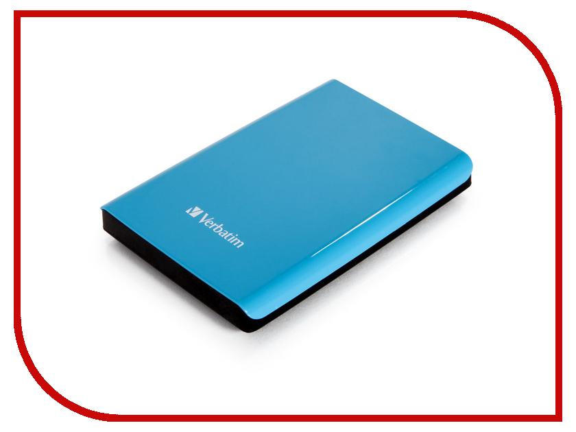 Жесткий диск Verbatim Store n Go 500Gb USB 3.0 Blue 53172