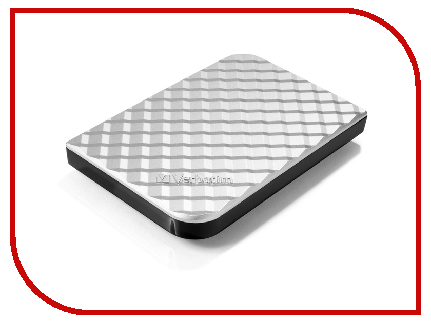 Жесткий диск Verbatim Store n Go 500Gb USB 3.0 Silver 53196