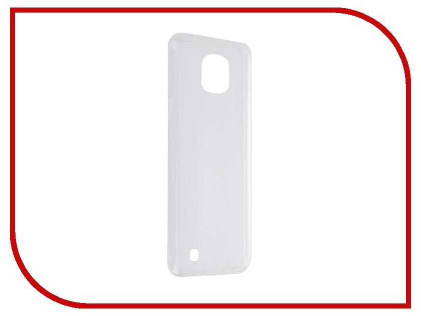 Аксессуар Чехол-накладка LG X Cam SkinBox Slim Silicone Transparent T-S-LXC-005<br>