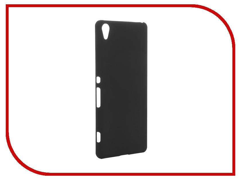 Аксессуар Чехол Sony Xperia XA SkinBox Shield 4People Black T-S-SXXA-002<br>