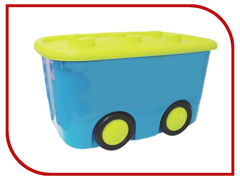 Корзина для игрушек Idea Моби М2598 Ящик для хранения Turquoise корзина мягкая idea цвет красный 17 л
