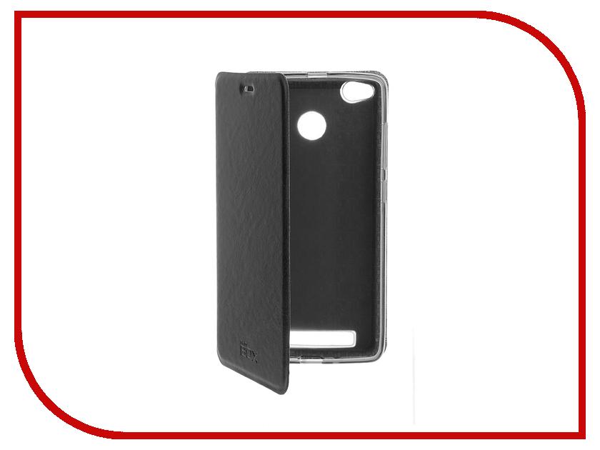 Аксессуар Чехол Xiaomi Redmi 3 Pro SkinBox Lux Black T-S-XR3P-003 аксессуар чехол meizu pro 6 skinbox lux black t s mp6 003