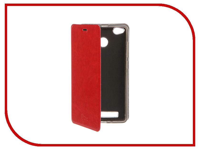 Аксессуар Чехол Xiaomi Redmi 3 Pro SkinBox Lux Red T-S-XR3P-003
