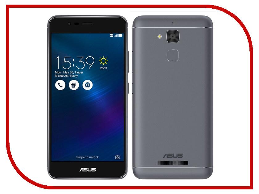 Сотовый телефон ASUS ZenFone 3 Max ZC520TL 16Gb Titanium Gray сотовый телефон asus zenfone 3 max zc520tl 16gb silver