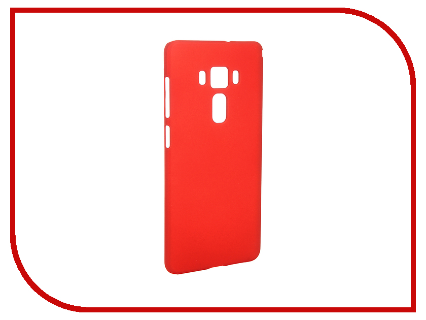 Аксессуар Чехол ASUS Zenfone 3 ZS570KL SkinBox Shield 4People Red T-S-AZS570KL-002