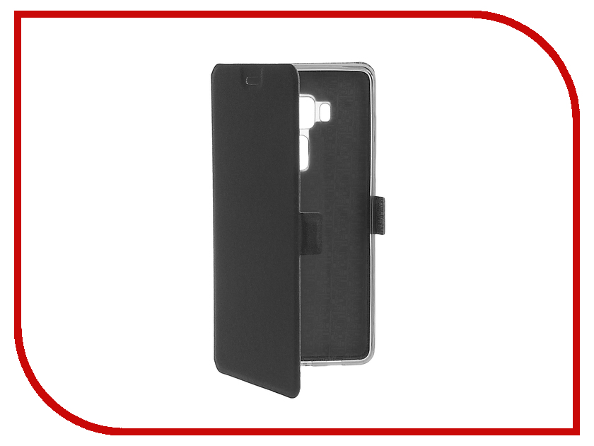 Аксессуар Чехол ASUS Zenfone 3 ZS570KL SkinBox Prime Book Black T-P-AZS570KL-05<br>
