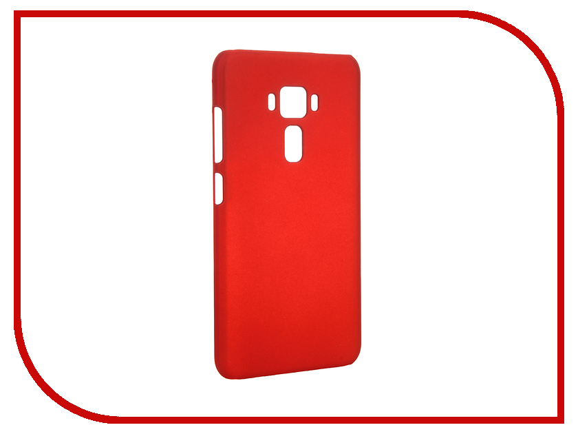 Аксессуар Чехол ASUS Zenfone 3 ZE552KL SkinBox Shield 4People Red T-S-AZE552KL-002<br>