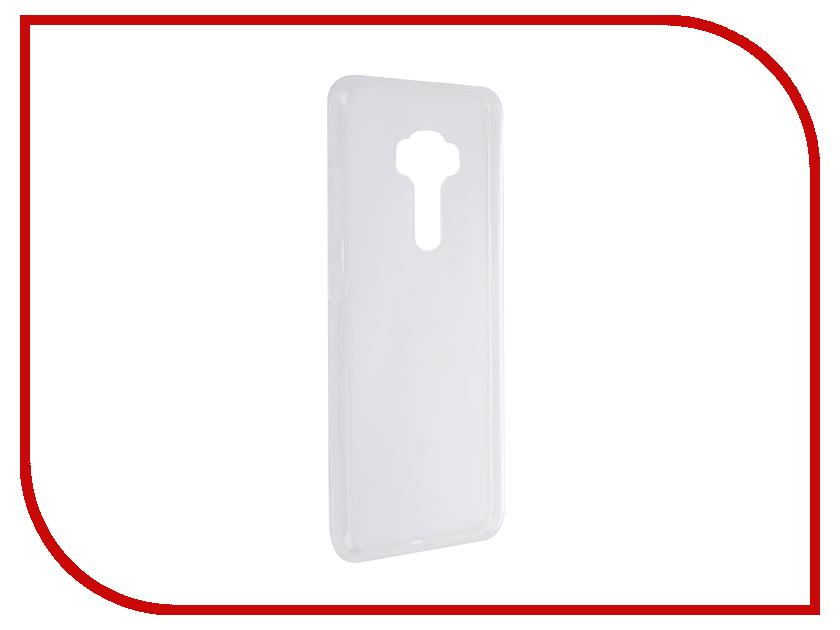 Аксессуар Чехол ASUS Zenfone 3 ZE552KL SkinBox Slim Silicone Transparent T-S-AZE552KL-005 asus zenfone 3 ze552kl 64gb в рассрочку