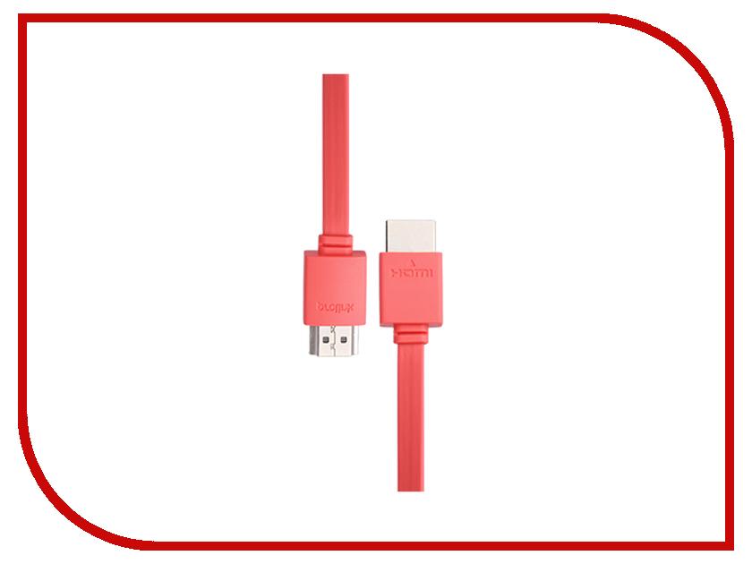 Аксессуар Prolink HDMI AM - HDMI AM 1.5m PB358R-0150 Red<br>