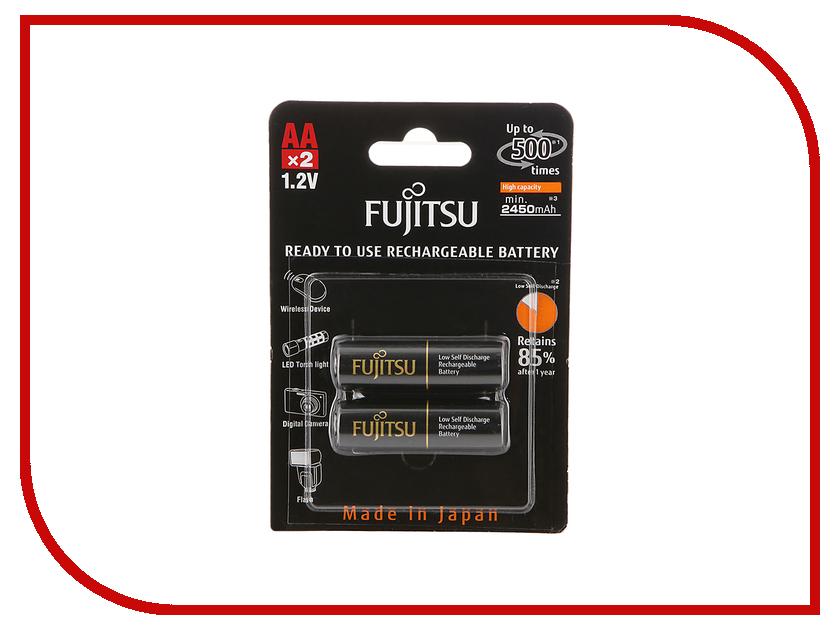 Аккумулятор AA - Fujitsu HR-3UTHCEU (2B) 2450 mAh (2 штуки) 84437<br>
