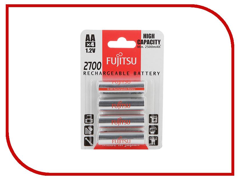 Аккумулятор AA - Fujitsu HR-3UAEU (4B) 2700 mAh (4 штуки) FDKB00010 84435 акриловая ванна alpen mars 120x70 комплект
