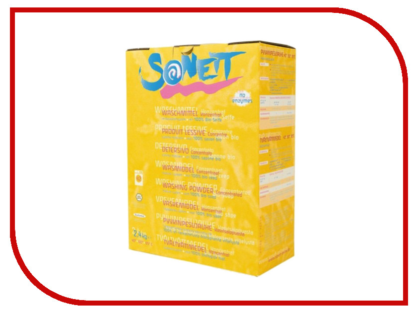 Средство Sonett Мыльный порошок 2.4Kg