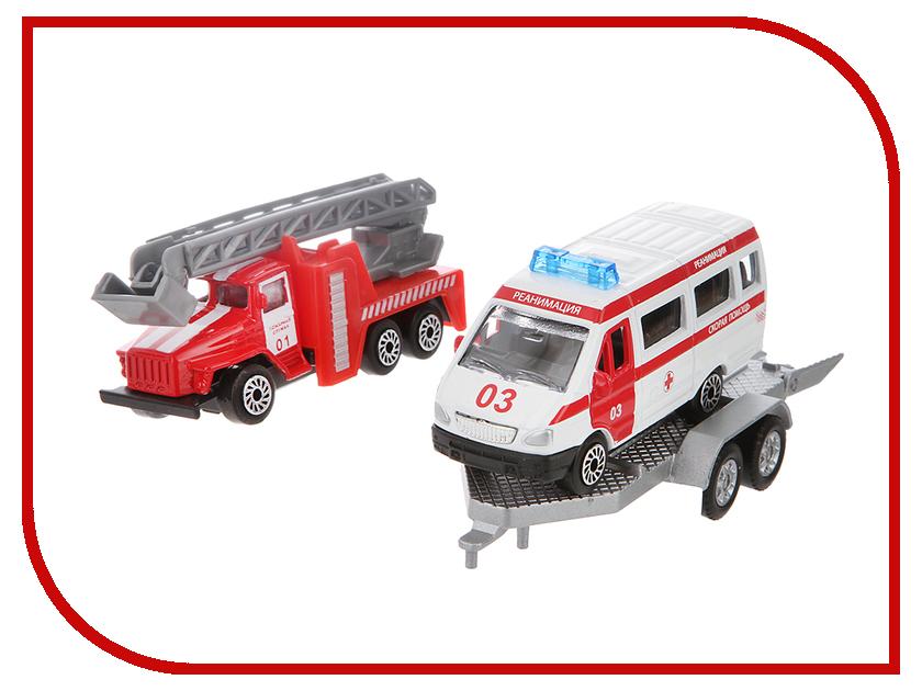 Игрушка Технопарк Пожарная техника SB-15-44WB технопарк пожарная машина со светом и звуком технопарк