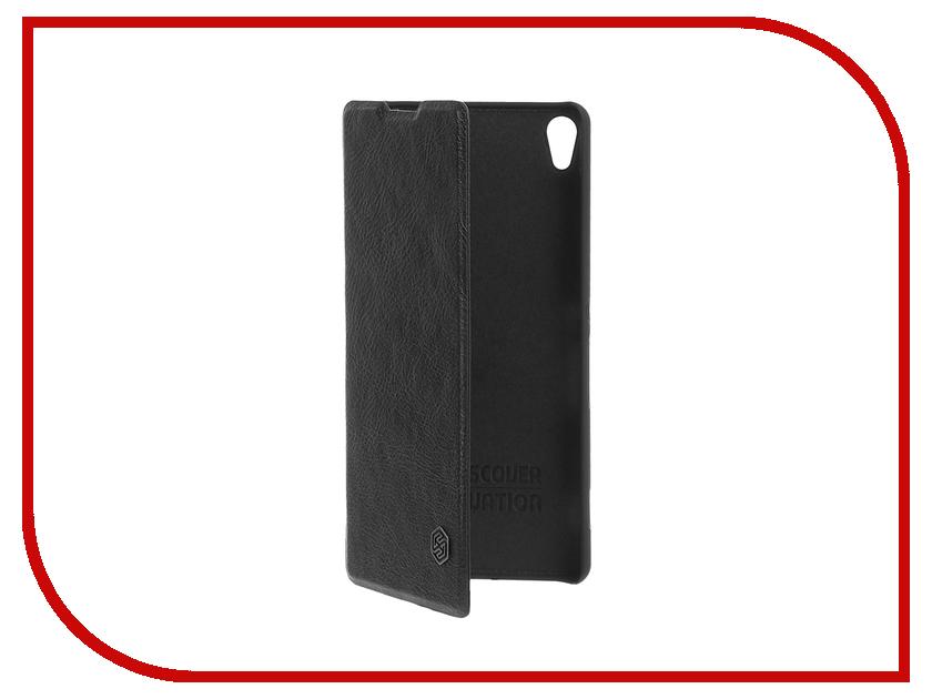 Аксессуар Чехол Sony Xperia XA Nillkin Qin Black<br>