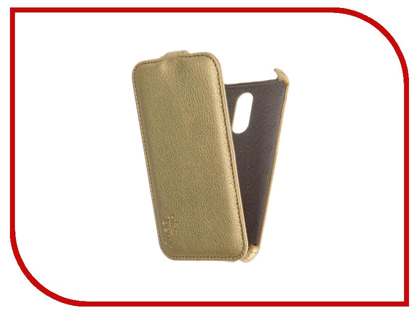 Аксессуар Чехол Xiaomi Redmi 3 / 3 Pro Aksberry Gold