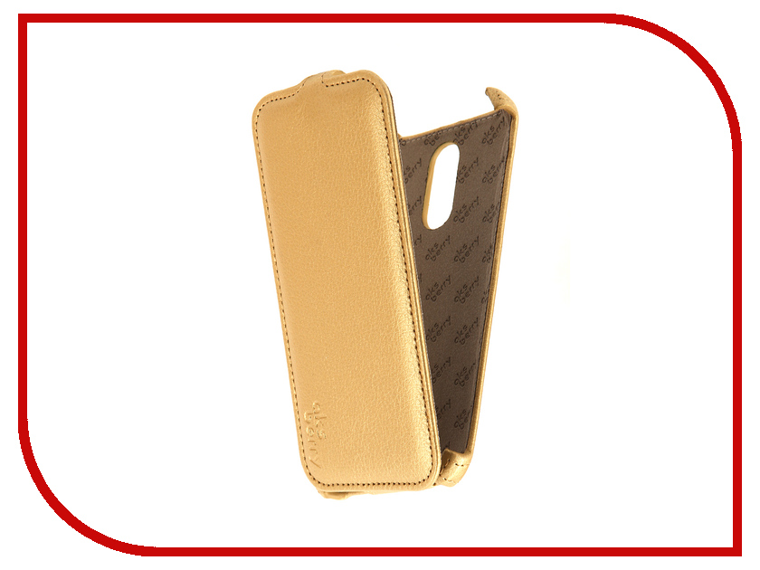 Аксессуар Чехол Xiaomi Redmi Note 3 Aksberry Gold