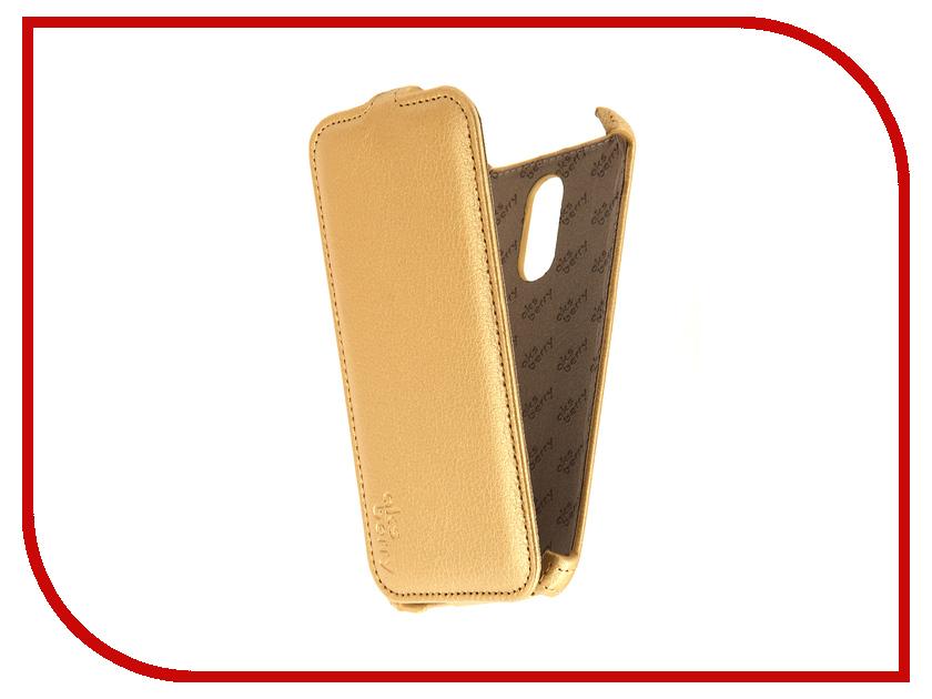 Аксессуар Чехол Xiaomi Redmi Note 3 Aksberry Gold<br>