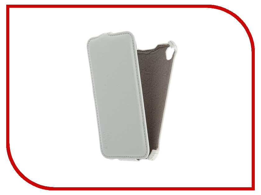 Аксессуар Чехол Sony Xperia E5 Aksberry White