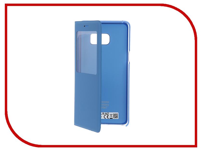Аксессуар Чехол Samsung Galaxy Note 7 N930 S View Standing Cover Blue EF-CN930PLEGRU чехол клип кейс samsung protective standing cover great для samsung galaxy note 8 темно синий [ef rn950cnegru]