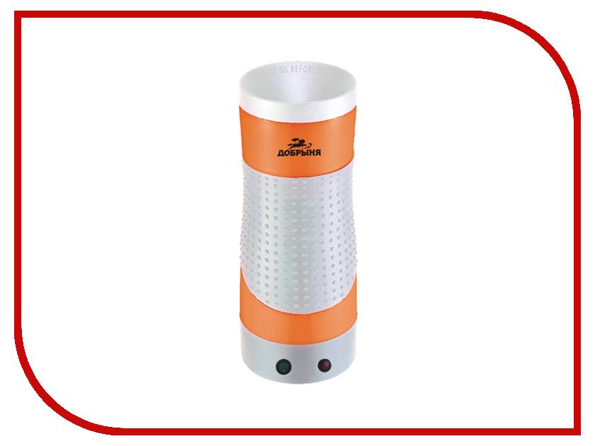 Электрогриль Добрыня DO-2403 White-Orange<br>