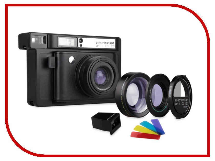 Zakazat.ru: Фотоаппарат Lomography LomoInstant Wide Combo Black LI900B