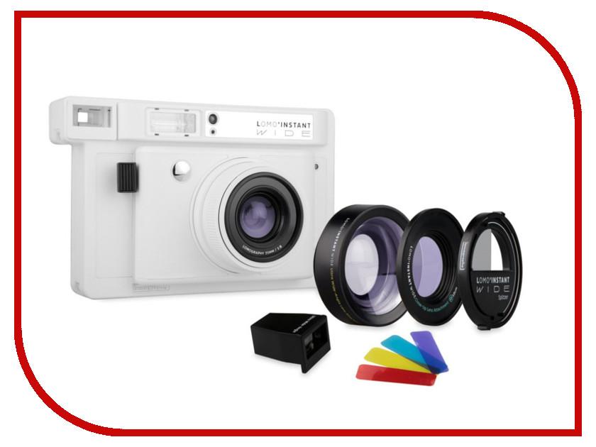 Zakazat.ru: Фотоаппарат Lomography LomoInstant Wide Combo White LI900W