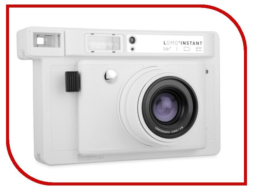 Zakazat.ru: Фотоаппарат Lomography LomoInstant Wide White LI200W