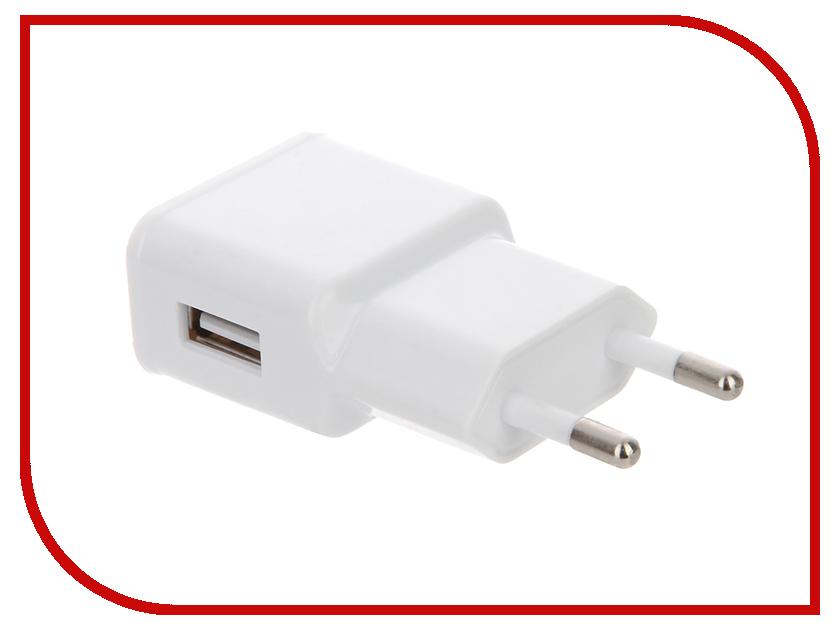 Зарядное устройство Red Line USB 5V1A Single White