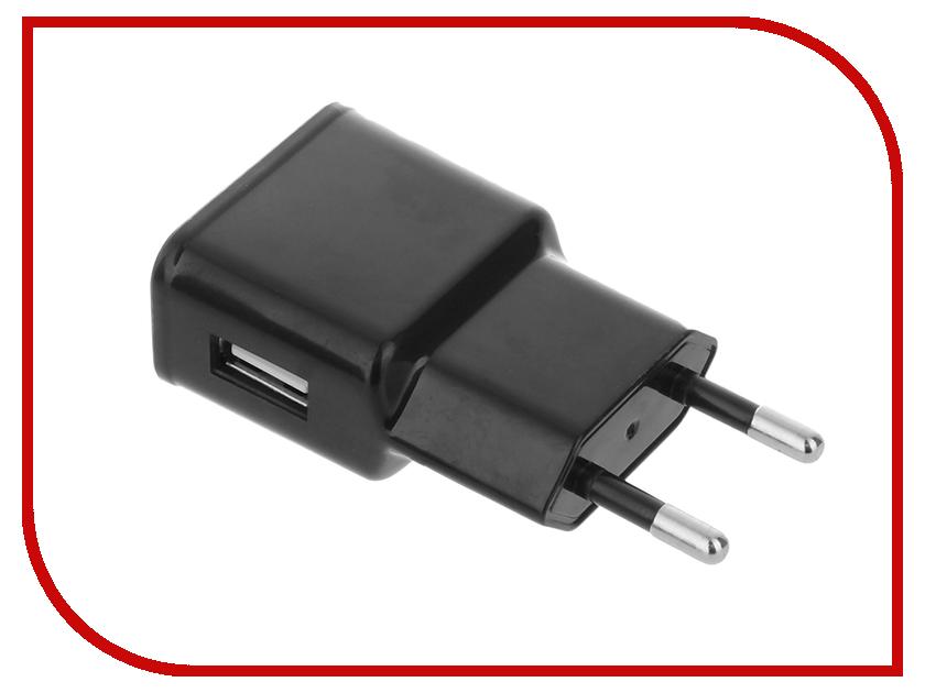 Зарядное устройство Red Line USB 5V1A Single Black<br>