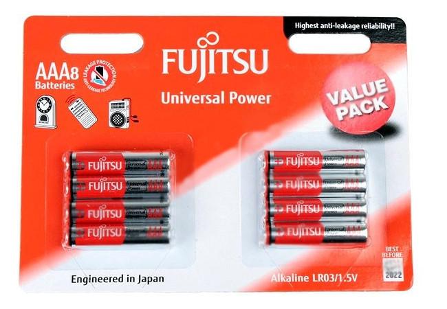 Батарейка AAA - Fujitsu LR03(8B)FU-W-FI 84085 (8 штук) peavey pvi 8b plus