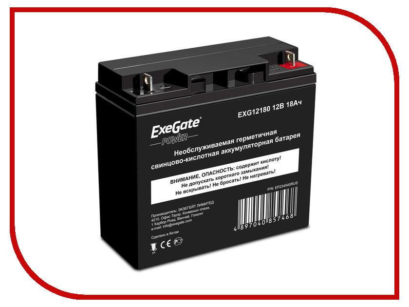 Аккумулятор для ИБП ExeGate Power EXG12180