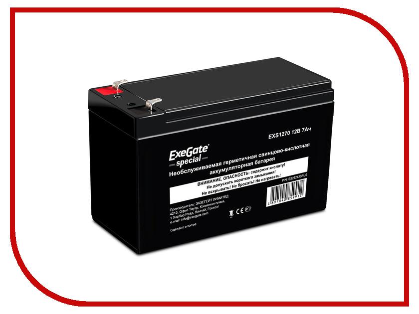 Аккумулятор для ИБП ExeGate Special EXS1270<br>