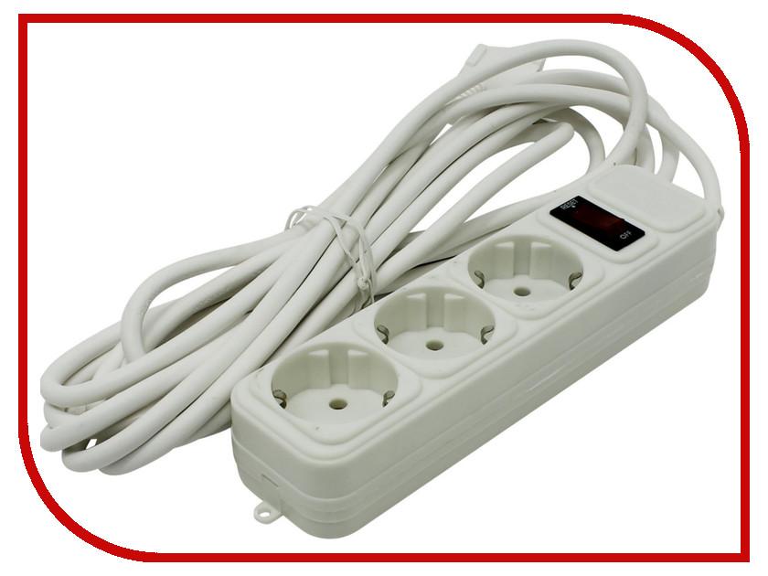 Сетевой фильтр ExeGate SP-3-5W 5m White 221184