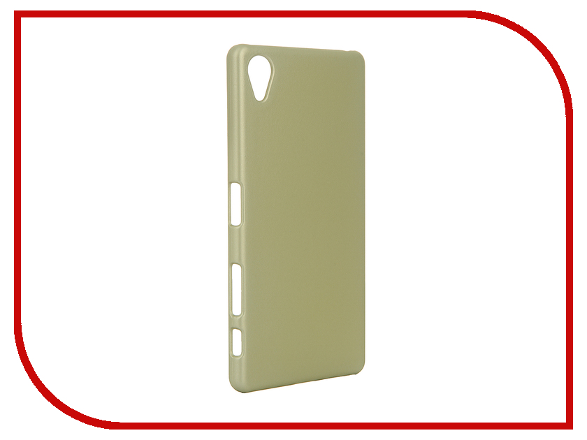 Аксессуар Чехол Sony Xperia X Perfomance BROSCO Golden Lime XP-SOFTTOUCH-GOLDLIME<br>