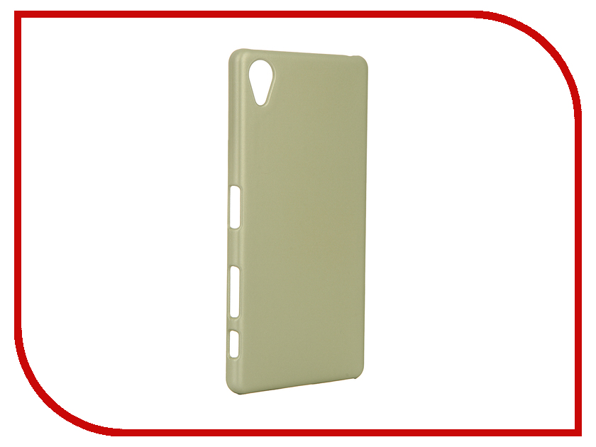 Аксессуар Чехол Sony Xperia X BROSCO Lime X-SOFTTOUCH-GOLDLIME<br>