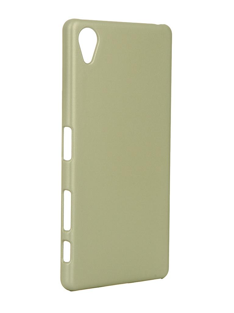 Аксессуар Чехол Brosco для Sony Xperia X Lime X-SOFTTOUCH-GOLDLIME стоимость