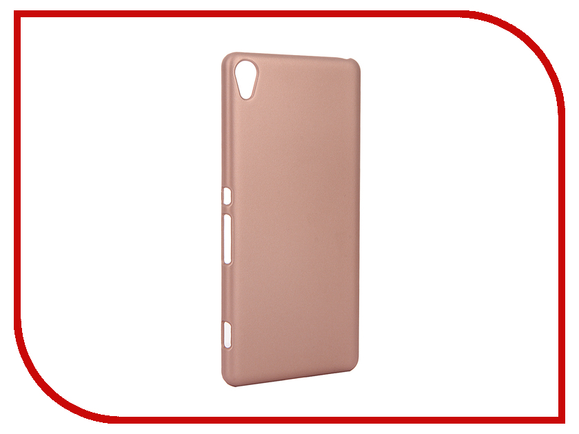 Аксессуар Чехол Sony Xperia XA BROSCO Gold XA-SOFTTOUCH-ROSEGOLD 15 6 touch screen digitizer glass replacement for toshiba satellite p50t b series p50t b 10t p50t b 11d p50t b y3111