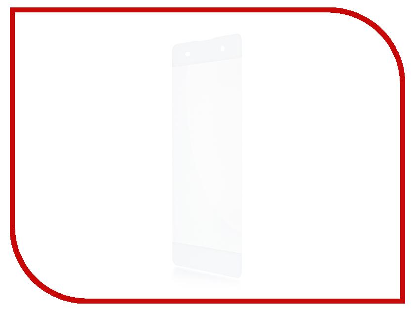 Аксессуар Защитное стекло Sony Xperia XA BROSCO 0.3mm White XA-3D-GLASS-WHITE защитное стекло 3d для sony xperia xa черное brosco