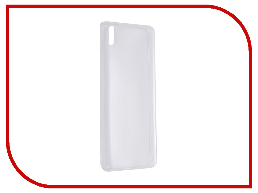 Аксессуар Чехол Sony Xperia E5 BROSCO Transparent E5-TPU-TRANSPARENT<br>