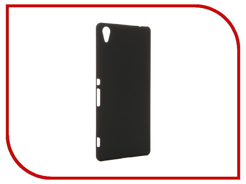 Аксессуар Чехол Sony Xperia XA Ultra BROSCO Black XAU-SOFTTOUCH-BLACK аксессуар чехол htc u ultra brosco black htc uu book black