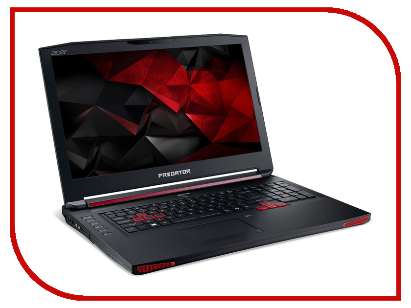 Ноутбук Acer Predator G9-792-52V8 NH.Q0PER.008 (Intel Core i5-6300HQ 2.3 GHz/16384Mb/1000Gb + 128Gb SSD/DVD-RW/nVidia GeForce GTX 980M 8192Mb/Wi-Fi/Cam/17.3/1920x1080/Windows 10 64-bit) ноутбук acer predator gx 792 74vl nh q1eer 005