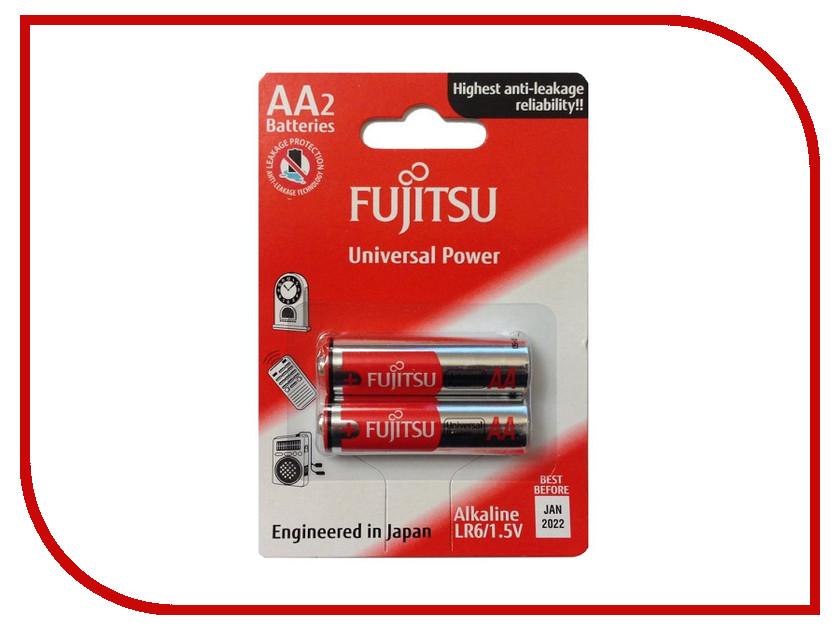 Батарейка AA - Fujitsu Universl Power LR6(2B)FU-W-FI 83421 (2 штуки)<br>