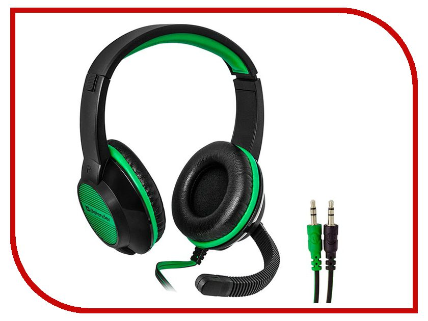 Defender Warhead G-200 Black-Green defender warhead g 200 black green