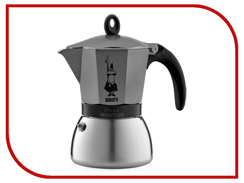 Кофеварка Bialetti Moka Induzione на 6 порций Antracite 4823 кофеварка bialetti moka induction gold 6 порций 4833