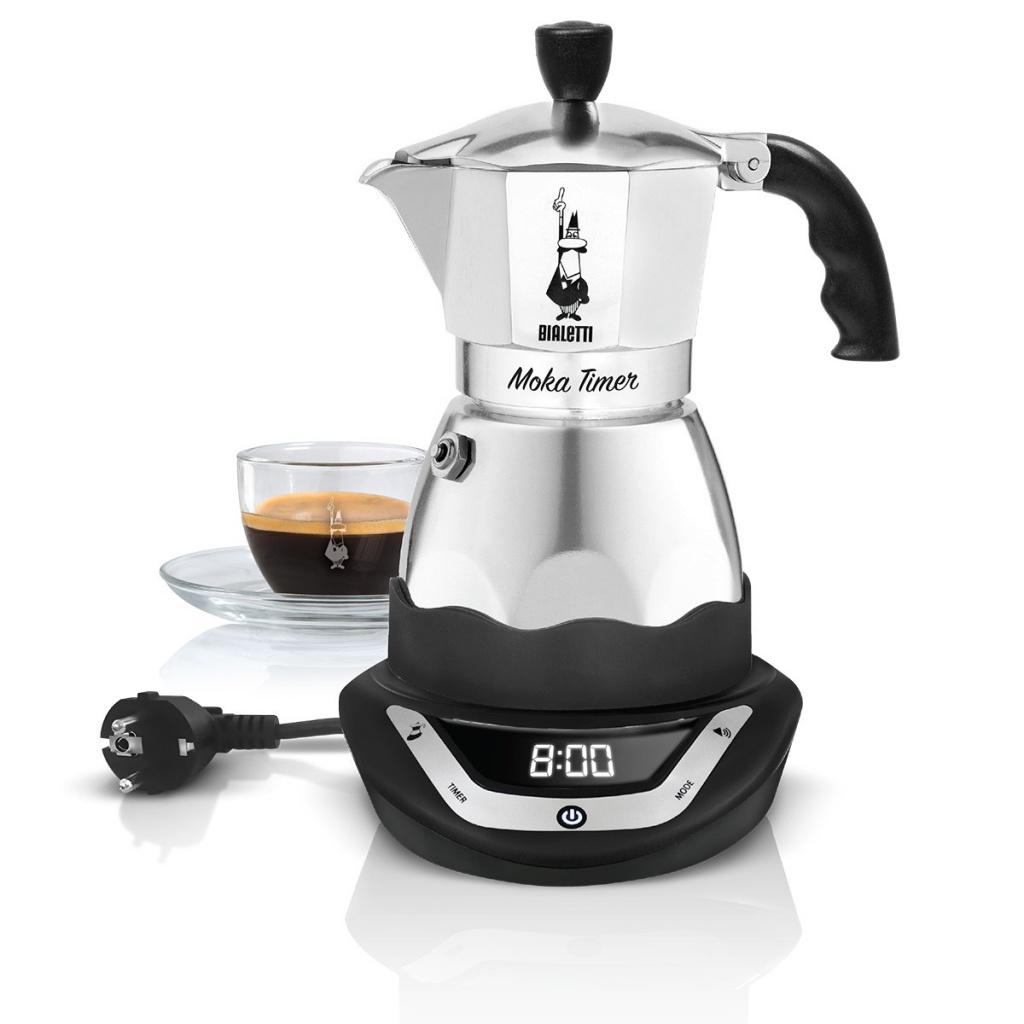 Кофеварка Bialetti Moka Timer на 6 порций 6093